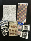 Lot of 11 New in Package Scrapbooking Mixed EMBELLISHMENTS  STICKERS