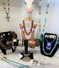 Southwestern Jewelry Lot Over 3 ounces Sterling Silver Navajo Turquoise Brighton
