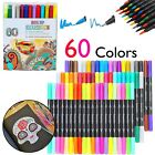 Pen Set Dual Brush Coloring Pens for Kids Adults Drawing Markers