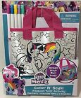 My Little Pony Color N Syle Purse Movie Toy Arts Craft Gift Set Hasbro MLP NEW