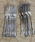 Affection Oneida 8 Dinner Forks 8 Salad Forks Silverplate  24 HOUR SHIPPING