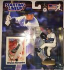 2000 ORLANDO HERNANDEZ New York Yankees Starting LineUp ROOKIE SLU figure moc