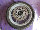 YAMAHA X-CITY 250 XCITY 2010 WHEEL RIM STRAIGHT TYRE USABLE DISC ROTOR BRAKE