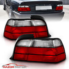 1992 1999 Red Clear Tail Light Assembly Pair for BMW E36 Coupe Left+Right JDM
