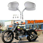 For Harley-Davidson Sportster 883 XL883 Motorcycle Rearview Side Mirrors Chrome