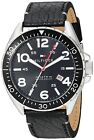 Tommy Hilfiger Black Dial Leather Strap Men's Watch 1791131 $125