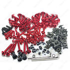 Red Fairing Bolt Kit body screws Clips For Honda NSR250R 1990-1993 1994-1999