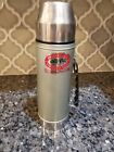 Uno Vac Jumbo Stainless Steel Unbreakable Thermos 2 Quart 64 oz Made USA Clean