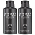 GUESS SEDUCTIVE HOMME DEODORANT Body Spray 4.0 oz (Lot of 2)