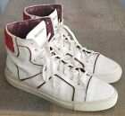TRUE RELIGION Boots Brent Leather Sneakers Shoes Mens 8M Black Ankle