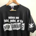 Biggest Loser T shirt Keep Walking Workout NBC Size XL