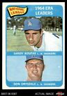 Top 10 Don Drysdale Baseball Cards 25
