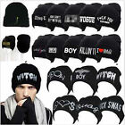 Unisex Winter Warm Knitted Beanie Caps Casual Fashion Cap Hip-hop Hats