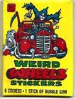 1980 Topps Weird Wheels Trading Cards 8