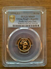 1995 1/10oz China gold panda coin Large Date PCGS MS69  *** POP 37 ONLY *** RARE