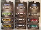 1991 ford mustang 50 1988 lx coupe lot set series 1 64 scale diecast GREENLIGHT