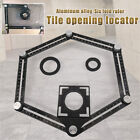 Adjustable Ceramic Wall Tile Glass Hole Saw Cutter Guide Opening Locator Tool