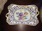 ELIOS HAND PAINTED SQUARE CURVED BOWL 11.5