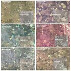 Color Change Sunlight Glitter Mix Chunky Hex Nail Art Face Festival Crafts