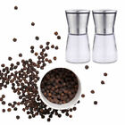 Durable Salt And Pepper Spices Shakers Manual Grinder Adjustable Mill Stainless