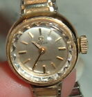 Vintage 14K Yellow Gold Filled Omega Ladymatic Wristwatch