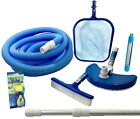 Pool Cleaning Blue Wave Standard Maintenance Kit Above Ground Pools Brushes