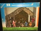 VTG Commodores 13 piece Italian Nativity Original Box Christmas Mid Century