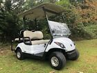 2014 G 29 Yamaha Drive Fuel Injected Gas Golf Cart led lights 4 seater