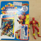 Super Powers Kenner Red Tornado with backing card