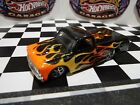 Hot Wheels 67 Chevy C10 Pickup Custom Paint Flames Real Riders