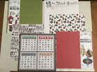 Stampin Up Christmas Paper LETTERS TO SANTA 12 Sheets DBL Sided 12x12 NEW