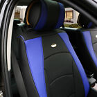 Luxury Leather Seat Cushion Covers Front Bucket Pair 11 Color Options
