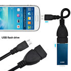 Micro USB OTG Cable Adapter Cord Data Connector Line For Samsung Android New