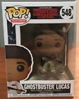 Funko Pop Stranger Things Ghostbuster Lucas #548
