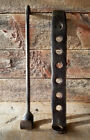 Antique Primitive Early HEARTH TRAMMEL c.1750 Forged Iron Heavy Old KETTLE HOOK