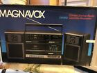 NEW Magnavox D8480 Vintage Boombox RARE NOS Stereo Radio Cassette Recorder WOW!