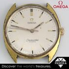 Vintage 1970s Omega Seamaster Cosmic Ref 135017 Cal. 601 Gold Plated Watch WORKS