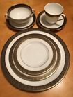 ROYAL DOULTON bone china ROCHELLE H5024, 56-Piece (7-pc place setting for 8)