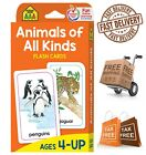 Animals of All Kinds Interesting Facts Flash Cards Word Picture Recognition