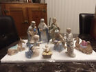 Royal Doulton Holiday Nativity Set 10 Pieces Hand Painted