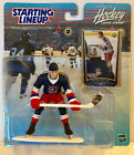 1999-2000 Wayne Gretzky Starting Lineup Figure & Hockey Card New York Rangers