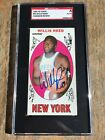 1969 Topps WILLIS REED RD Rookie card HOF Auto Signed SGC Autograph
