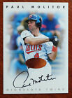 Paul Molitor 1996 Leaf Signature Certified Autograph Minnesota Twins Auto SP