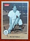 Phil Rizzuto 2002 Fleer Greats of the Game Certified Autograph New York Yankees