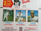 1975 Hostess Robin Yount #80 Rookie Card Full Panel Flattened - MINT Condition!