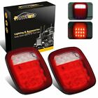 Rear Brake Turn Signal Tail Lights Pair Jeep Wrangler CJ7 CJ8 TJ LJ YJ JK LED