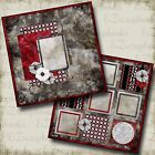 TREASURE 2 Premade Scrapbook Pages EZ Layout 282