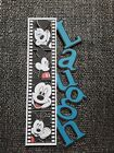Disney Mickey mouse Laugh title printed scrapbook page die cut