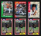 (6) Mike Mussina KENNER STARTING LINEUP CARDS 1993 1994 1995 1997 - NM/MT Rookie