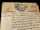 1779 Handwritten Autographed Document on Paper